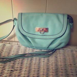Rosetti teal small handbag